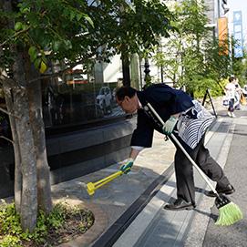 グリーンライフ兵庫の活動 地域清掃活動
