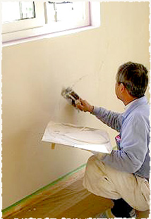 自然素材100% スペイン漆喰の主な特徴