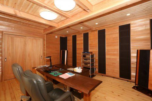 音楽鑑賞が趣味のご主人様がハウスメーカーさんで見積もりをしたところ防音工事だけで200万円。ゼロ宣言の家は0円でした。