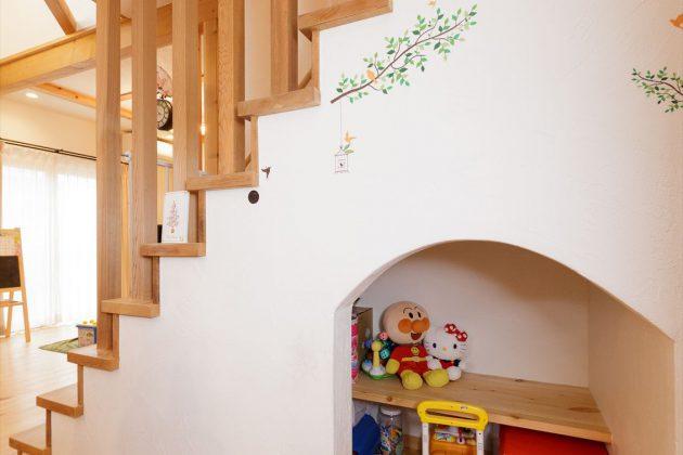 お子様が大きくなられたら収納スペースとして利用できます